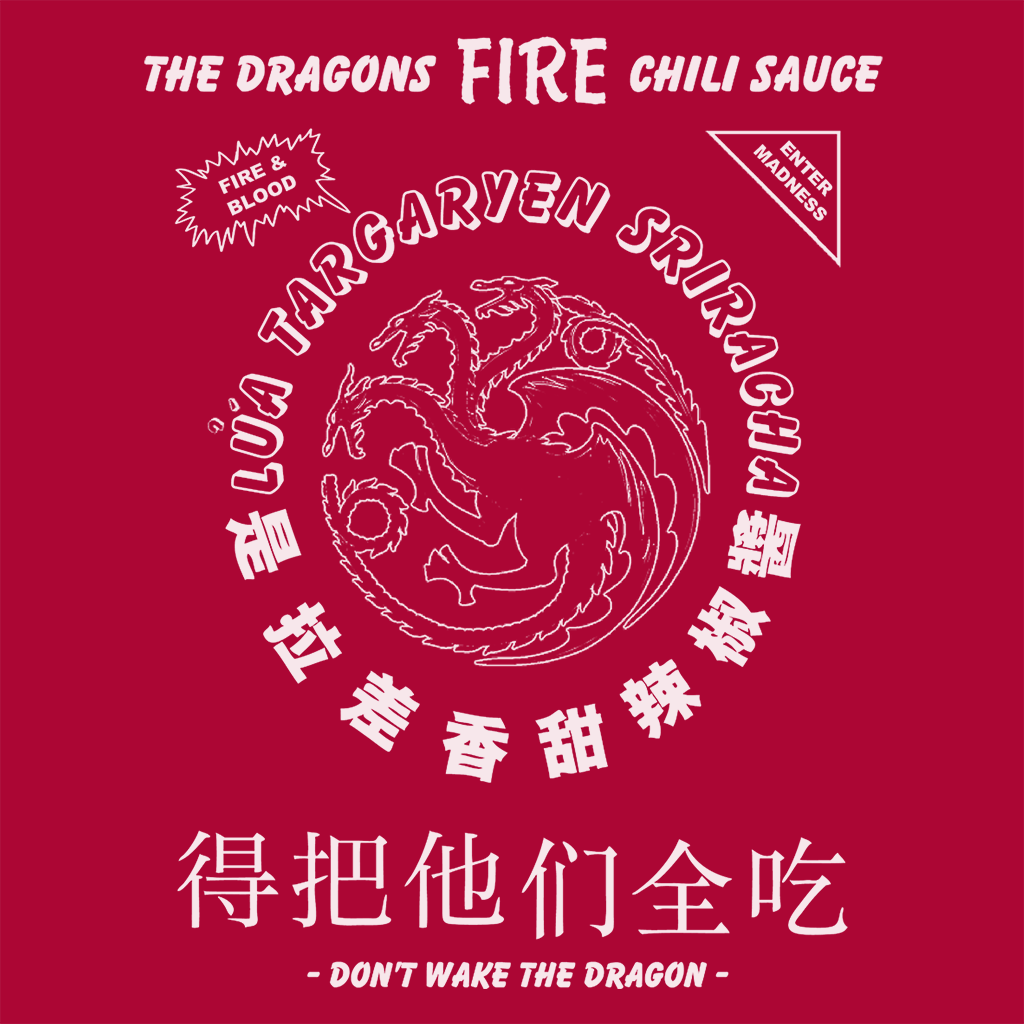 Pop-Up Tee: Dragons Fire Chili Sauce