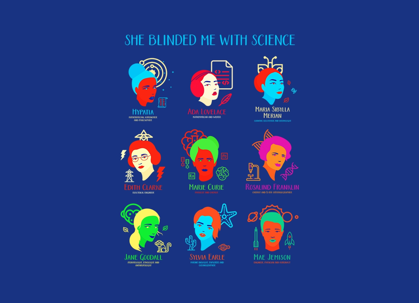 Threadless: She Blinded Me with Science