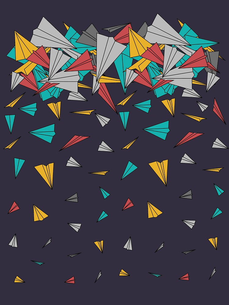 RedBubble: Flying paper planes