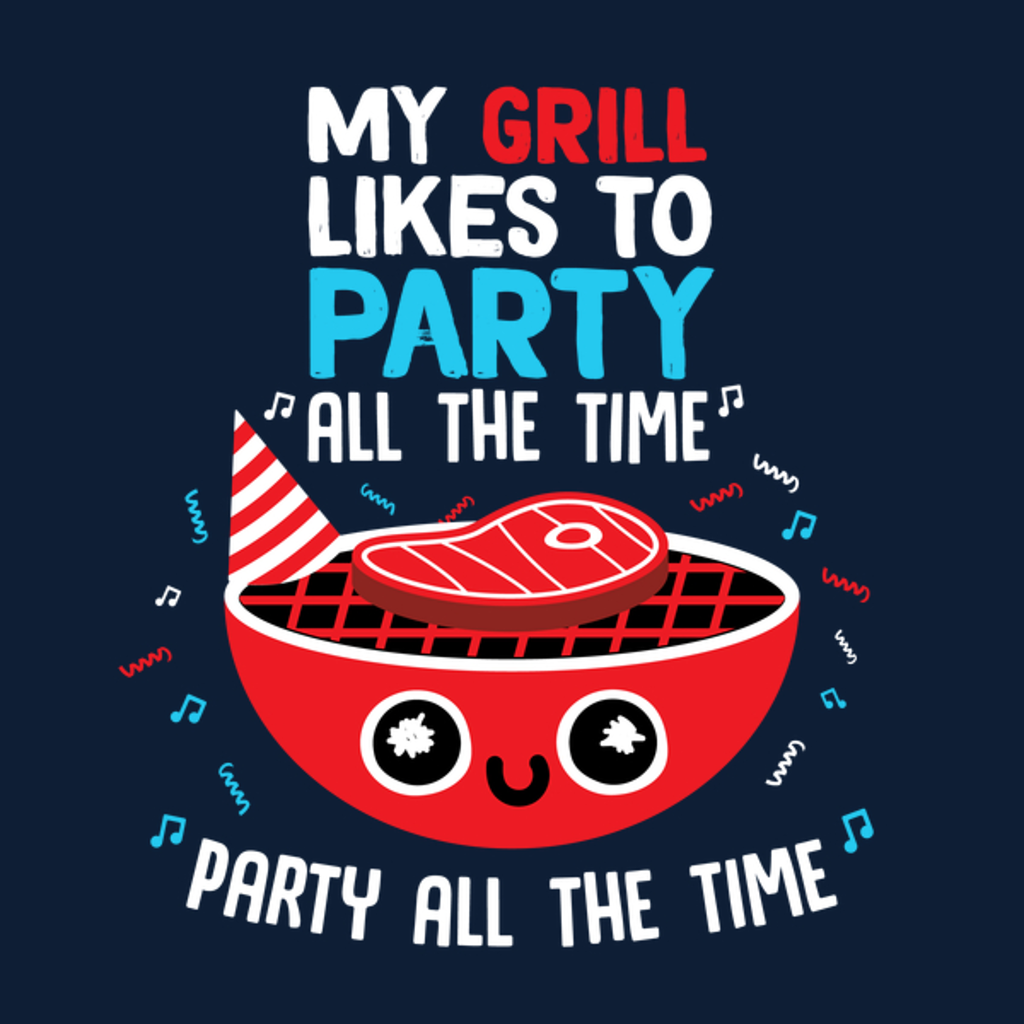 NeatoShop: My Grill Likes To Party