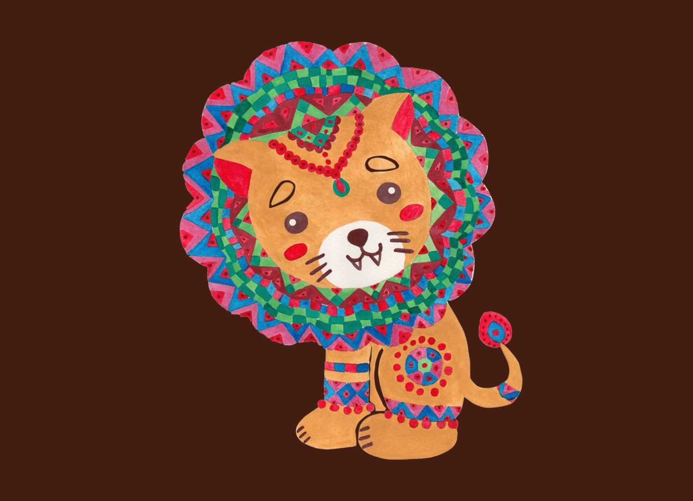 Threadless: Little King of the Jungle