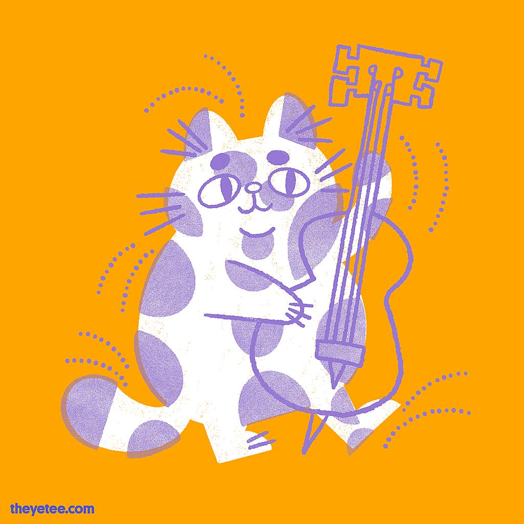 The Yetee: Jazz Cat!