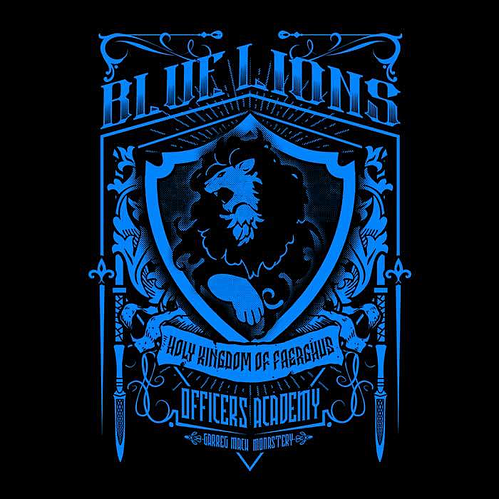 Once Upon a Tee: Blue Lions Officers
