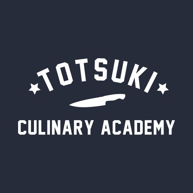 TeePublic: Totsuki Culinary Academy - shokugeki no soma food wars