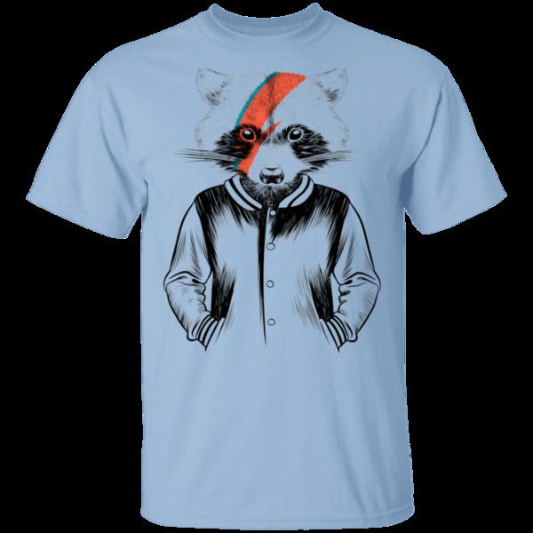 Pop-Up Tee: Raccoon Bowie