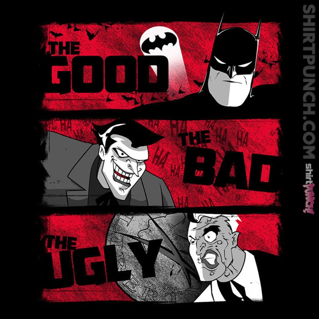 ShirtPunch: The Good, The Bad, The Ugly
