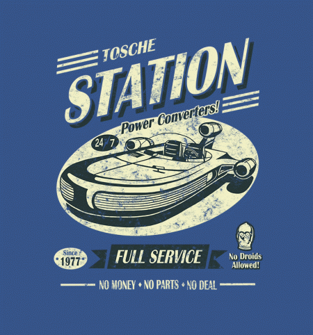 BustedTees: Tosche Station