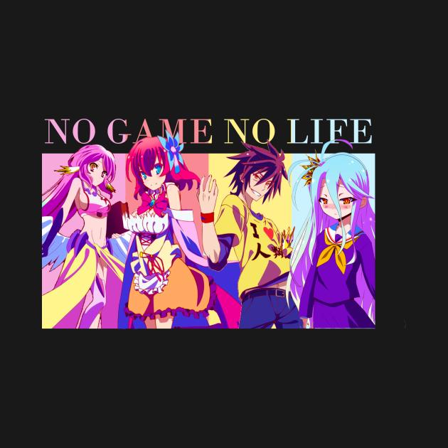 TeePublic: No game No life Tshirt anime manga