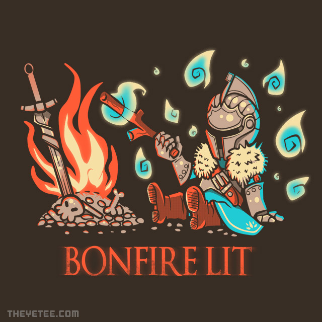 The Yetee: Bonfire Lit