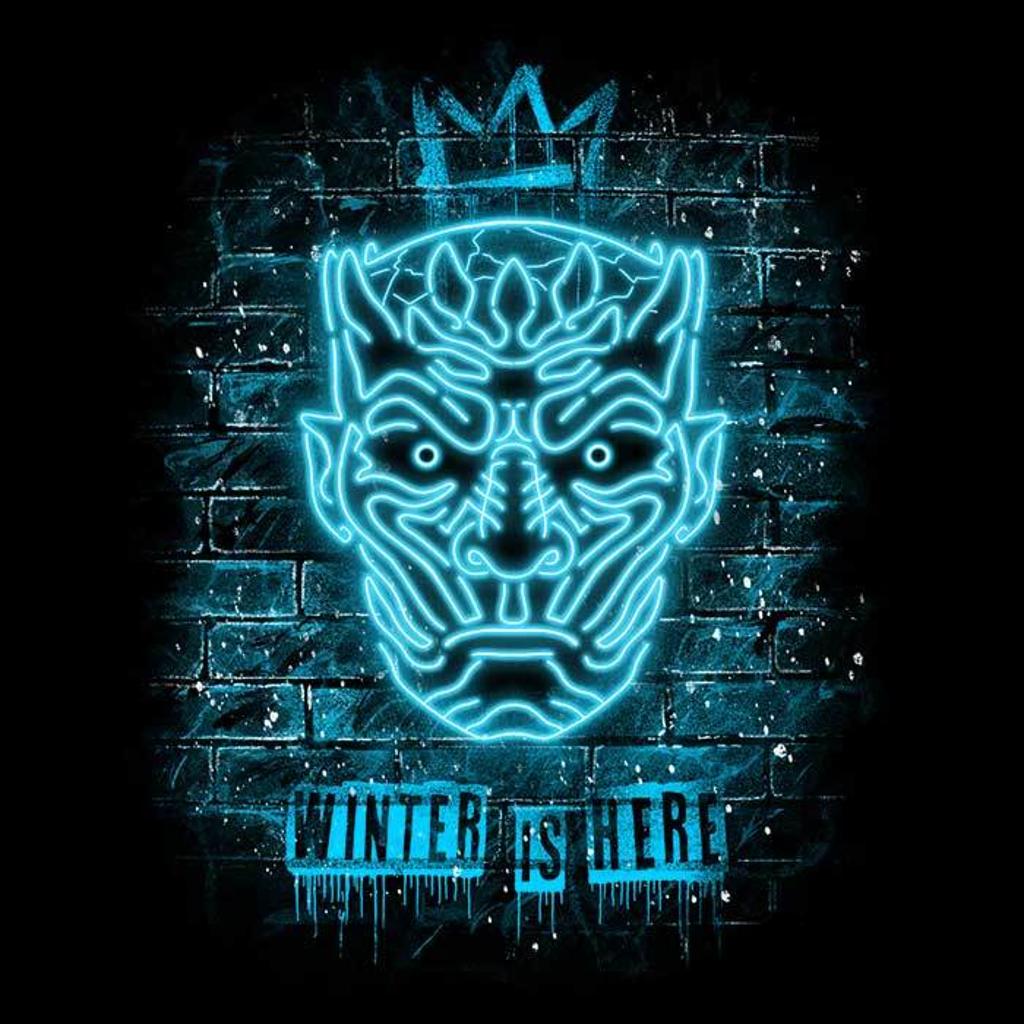 Once Upon a Tee: Neon Ice King