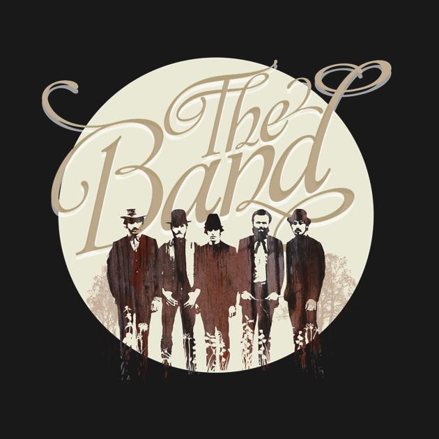 TeePublic: THE BAND music gift tees