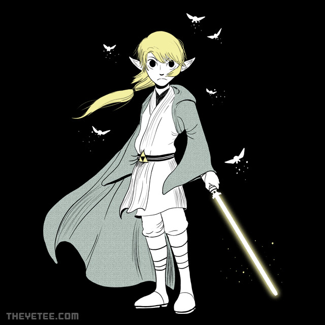The Yetee: Light Side of the Triforce