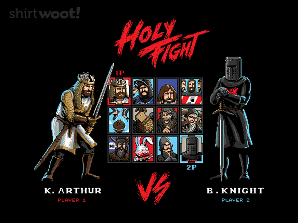 Woot!: Holy Fight