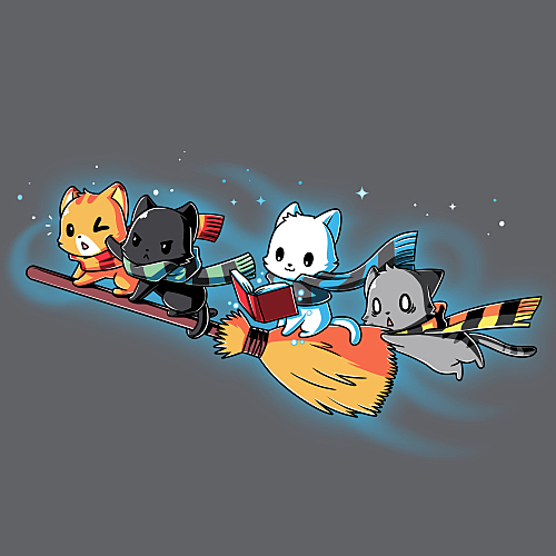 TeeTurtle: Flying House Cats