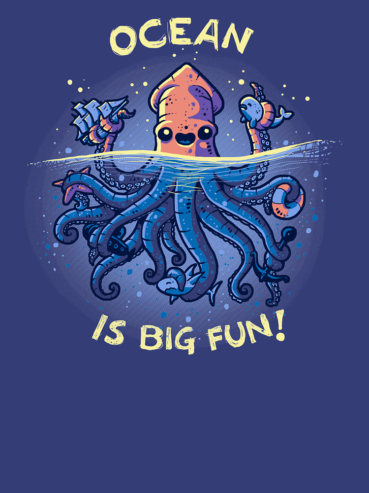 RedBubble: Joyful Kraken