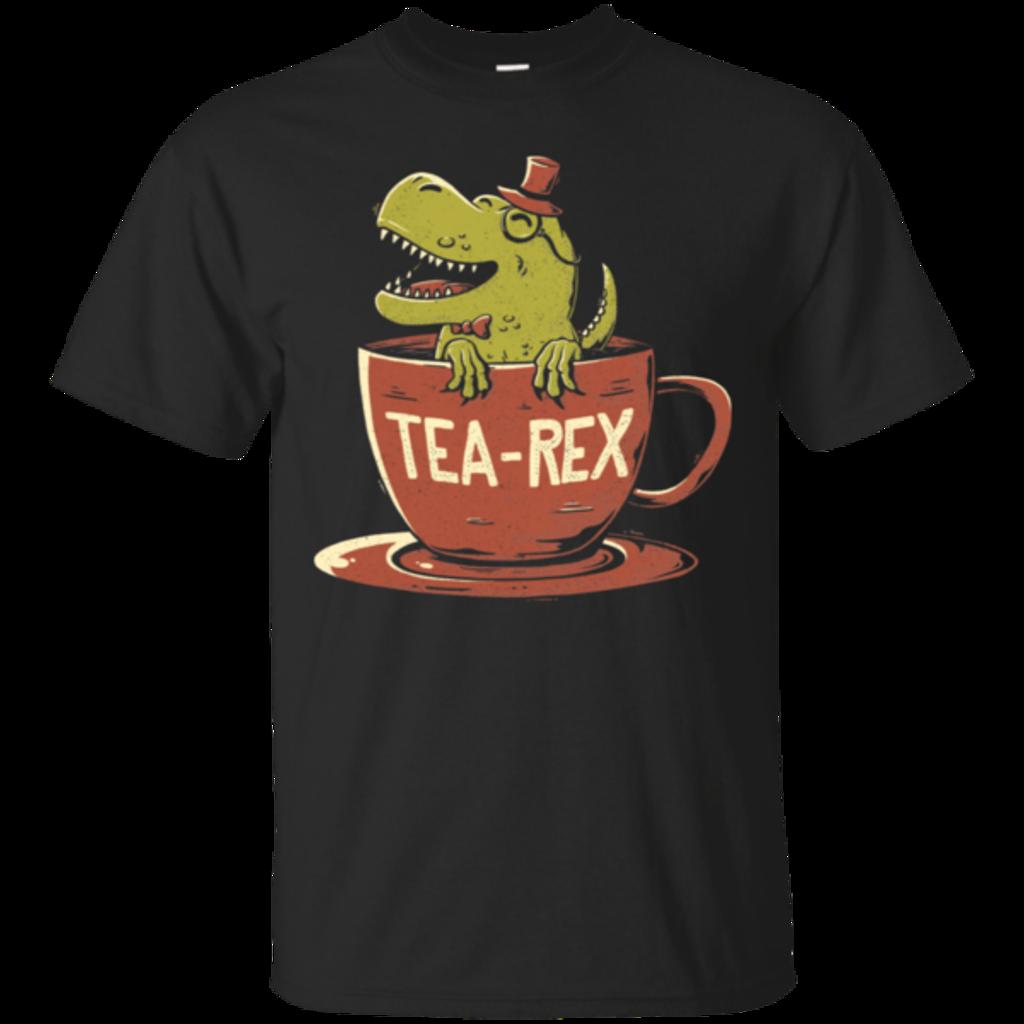 Pop-Up Tee: Tea-Rex