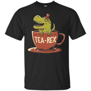 Pop-Up Tee: Tea-Rex
