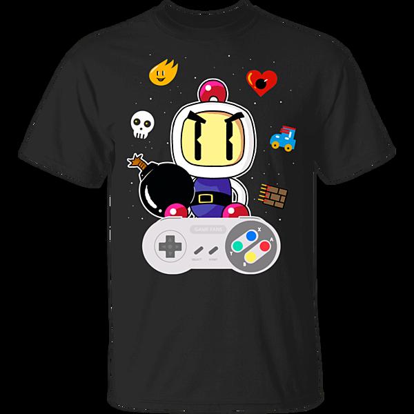 Pop-Up Tee: Lever Bomberman