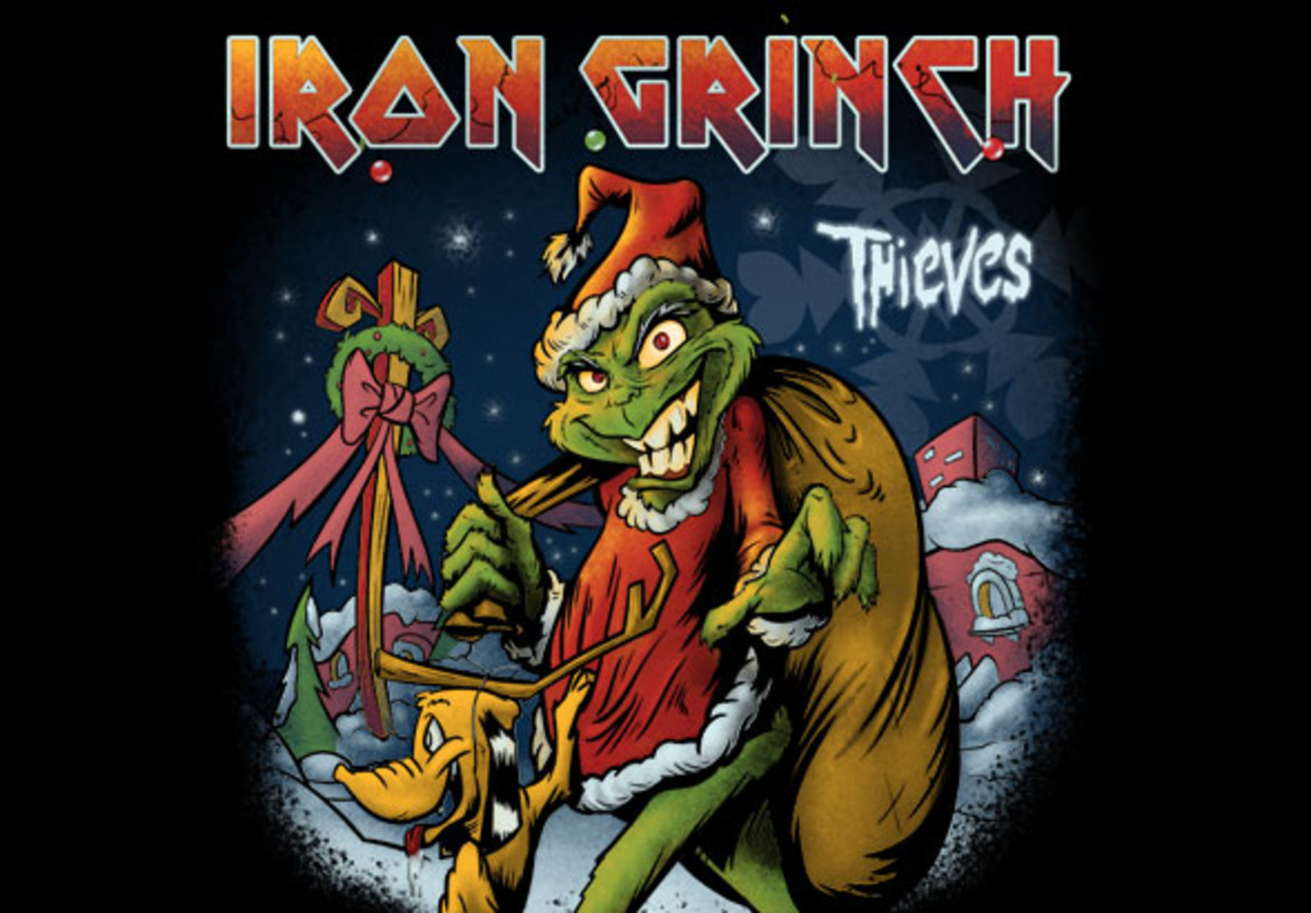teeVillain: Iron Grinch