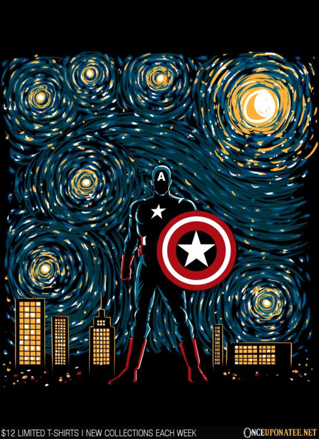 Once Upon a Tee: Starry Soldier