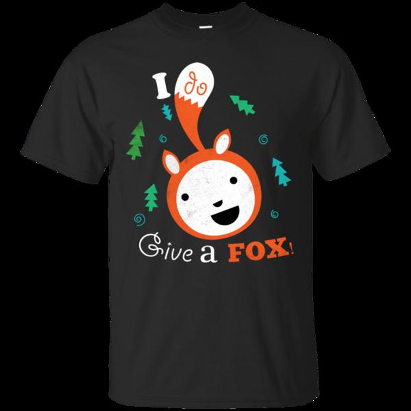 Pop-Up Tee: Giving a Fox