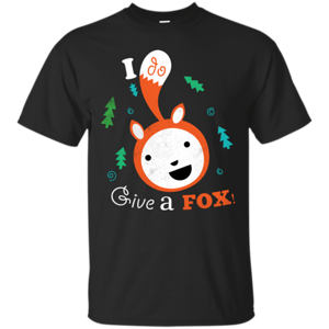 Pop-Up Tee: Giving a Fox