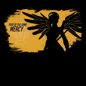Pop-Up Tee: Play of the Game Mercy