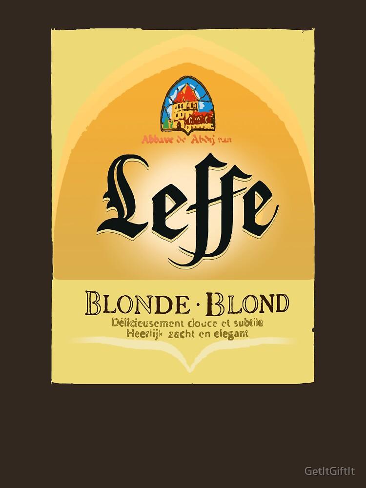 RedBubble: Leffe Blonde Belgian Beer design