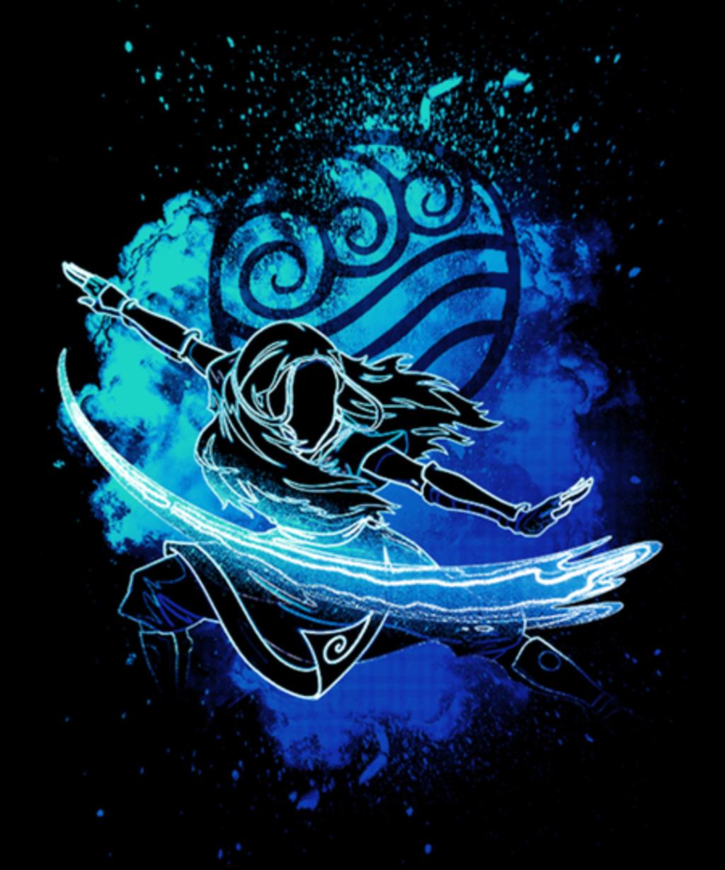 Qwertee: Soul of the waterbender