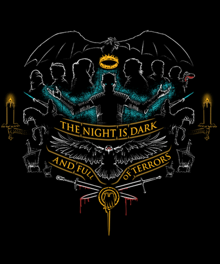 Qwertee: The night is dark