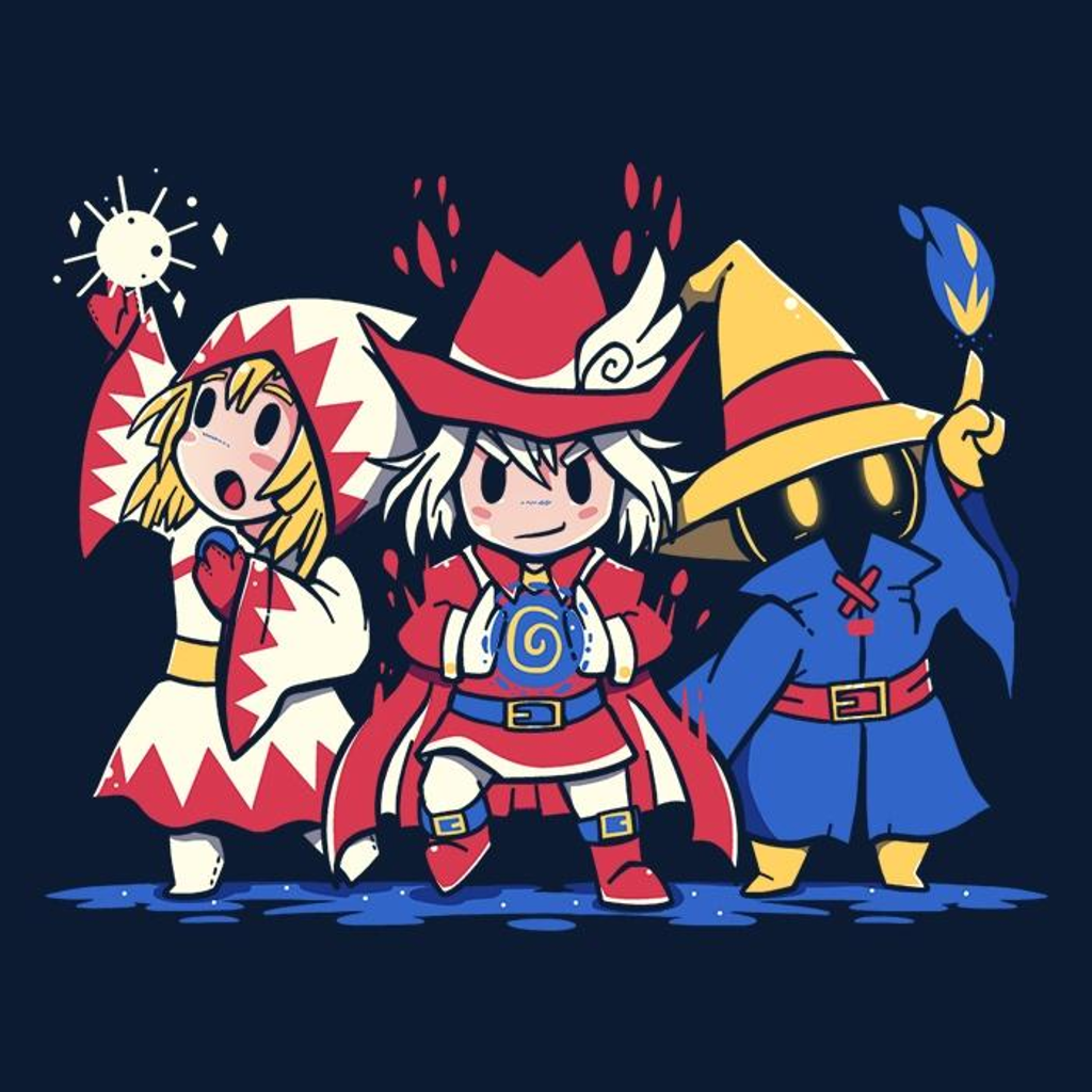 Once Upon a Tee: The Three Mages - Women's Apparel