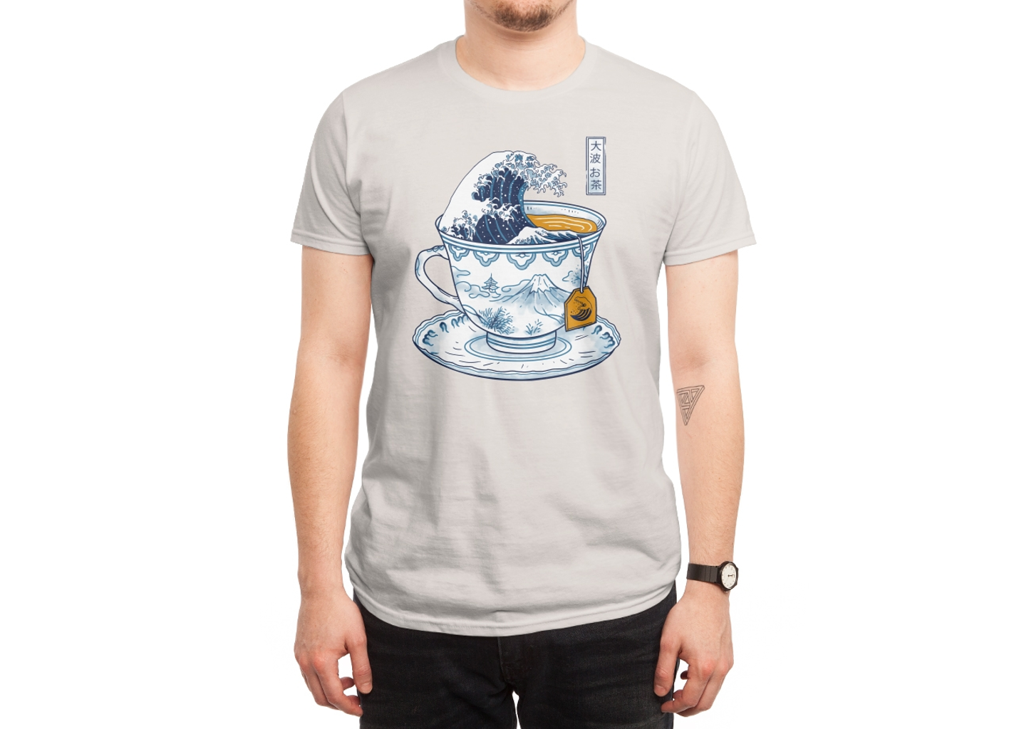 Threadless: The Great Kanagawa Tee