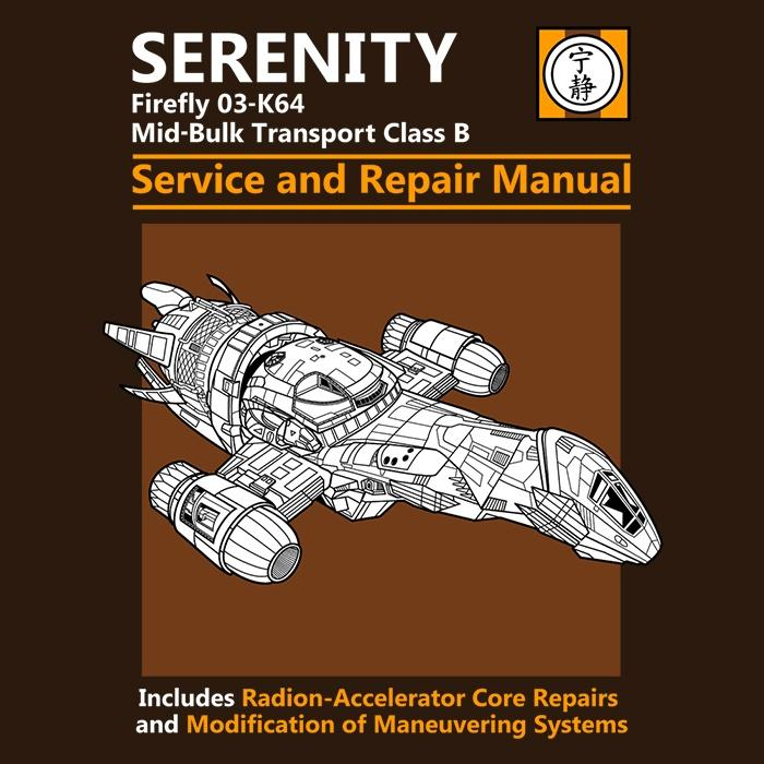Once Upon a Tee: Serenity Service