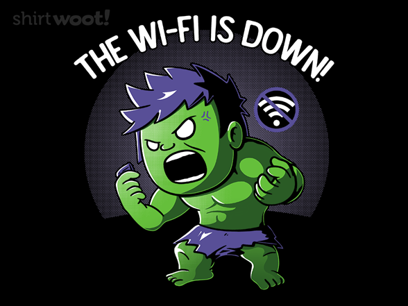 Woot!: The Wi-Fi is Down!