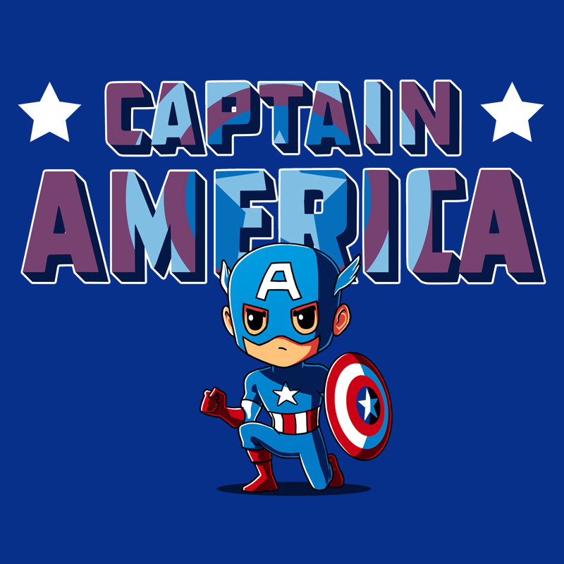 TeeTurtle: Captain America Shirt
