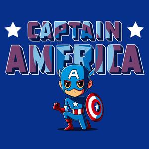 TeeTurtle: Captain America Shirt