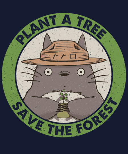 Qwertee: SAVE THE FOREST