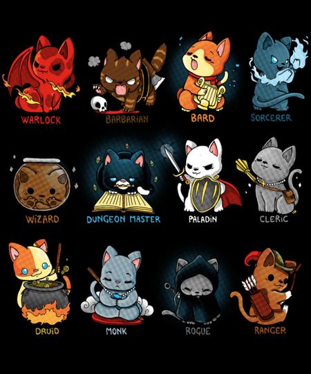 Qwertee: Kitten Role Play