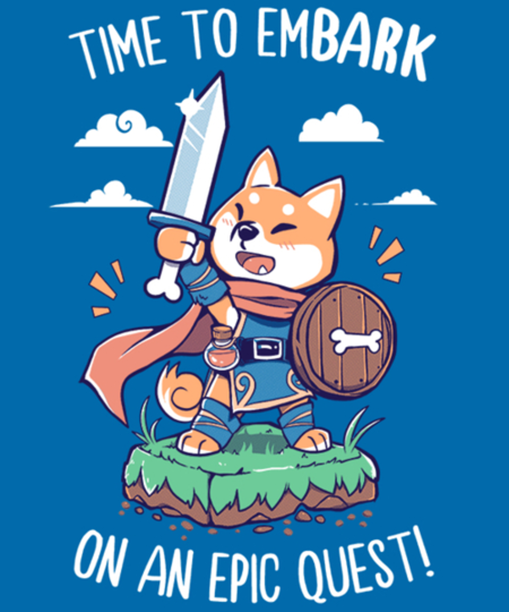 Qwertee: Time to EmBARK on an Epic Quest