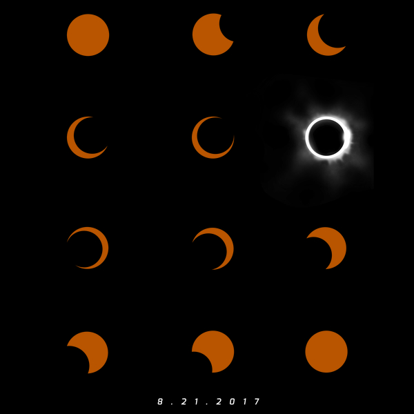 NeatoShop: Total Solar Eclipse August 21 2017 2