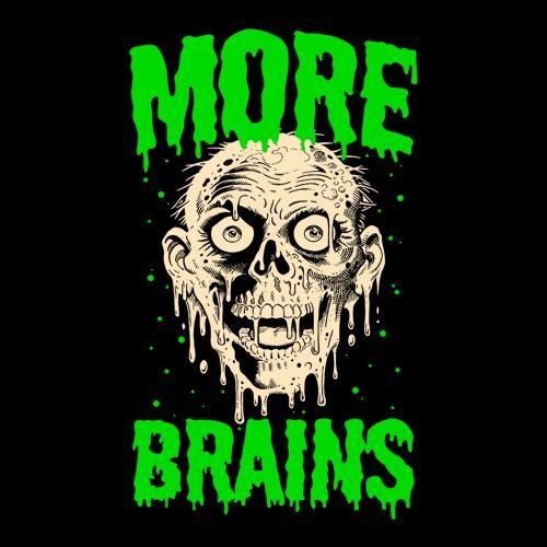 Five Finger Tees: Tarman More Brains T-Shirt