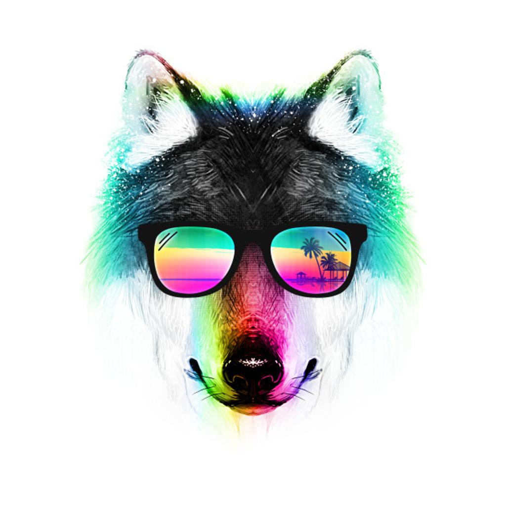 TeePublic: Summer Wolf