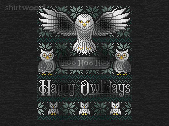 Woot!: My Owliday Sweater