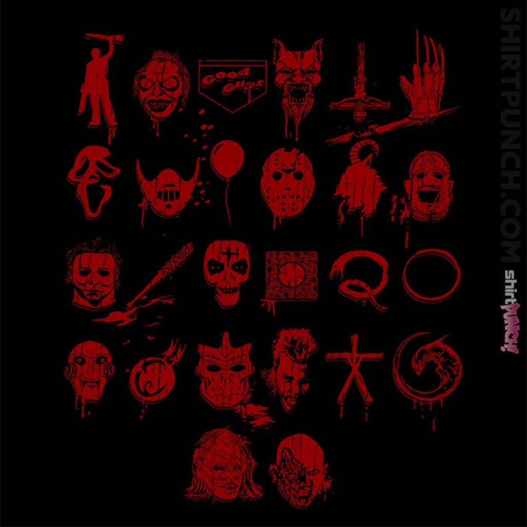 ShirtPunch: ABCs Of Horror