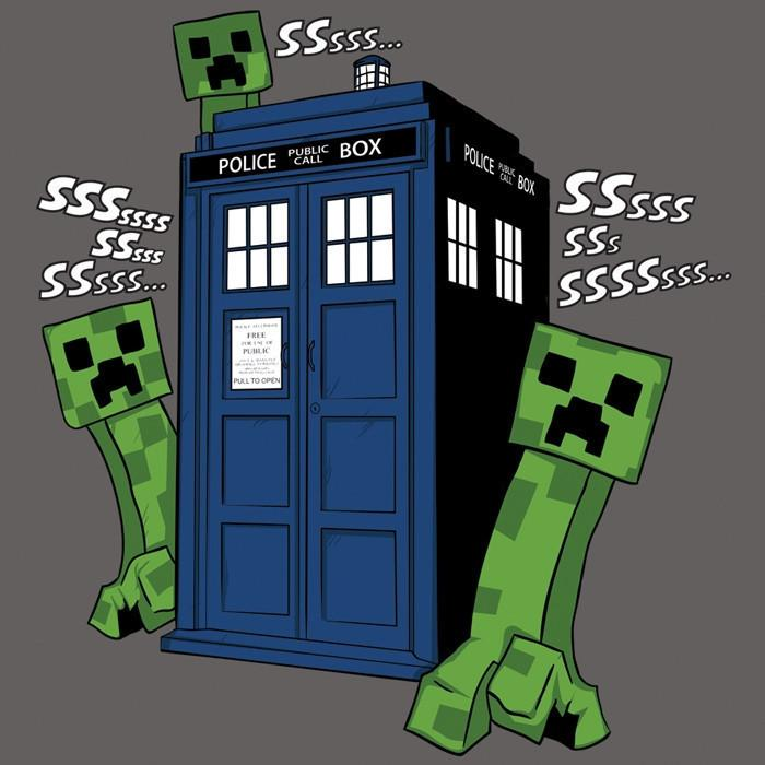 Blue Box Tees: Creepers Have The Phone Box