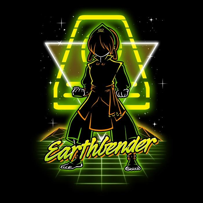Once Upon a Tee: Retro Earthbender