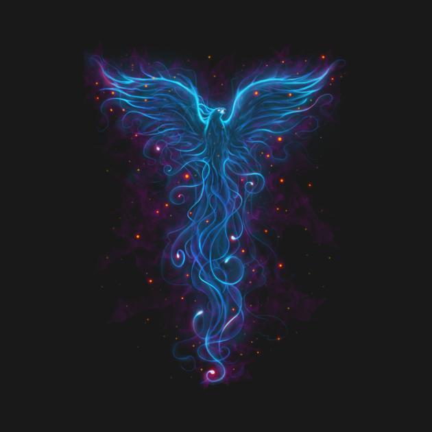TeePublic: The Heat of Illusion blue