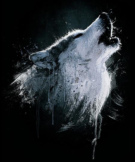 Qwertee: Alaskan Timber Wolf