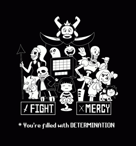 BustedTees: You're Filled With Determination