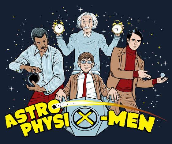 GraphicLab: AstrophysiX-Men